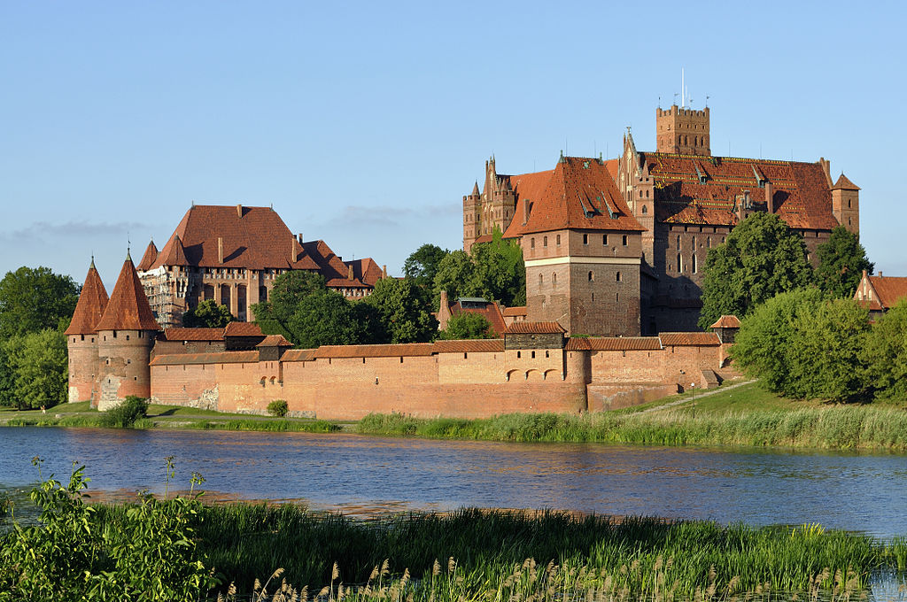 Panorama of Malbork Castle part 4
